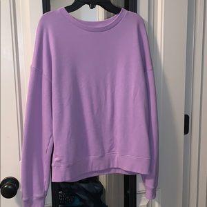 American Eagle Purple / Lavender Sweatshirt